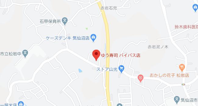 google mapのキャプチャ画像